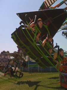 Orla and Eoghan at the Dutchess County Fair - Click for more pictures